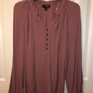 Women's Large Long Sleeve Blouse - NWT